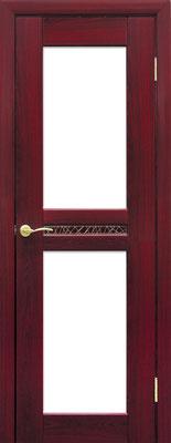 """25. Межкомнатная дверь """"Флоренция"""", с белым стеклом. ЦЕНА: 7105 рублей."""