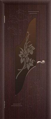 """13. Межкомнатная дверь """"Каролина"""" (со стеклом). ЦЕНА: 6235 рублей."""