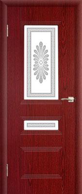 """2. Межкомнатная дверь """"Альта"""" (со стеклом). ЦЕНА: 6090 рублей."""