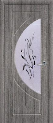 """16. Межкомнатная дверь """"Сфера"""" ( со стеклом). ЦЕНА: 6090 рублей."""
