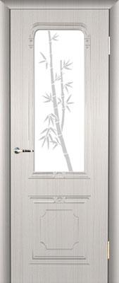 """8. Межкомнатная дверь """"PR-34"""" (со стеклом). ЦЕНА: 6235 рублей."""