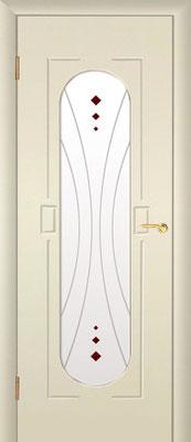 """21. Межкомнатная дверь """"М-11"""" (со стеклом). ЦЕНА: 5945 рублей."""