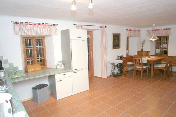 Küchenbereich Apartment Fewo1