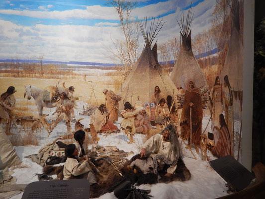 Ausstellung über die First Nation