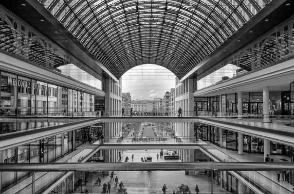 Berlin_April 2016_ Berlin Mall  All images: © Klaus Heuermann