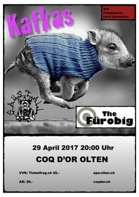 29.04.17  ll  KAFKAS  l  SAUSTALL  l  THE FÜROBIG
