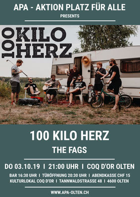 03.10.19  ll  100 KILO HERZ  l  THE FAGS