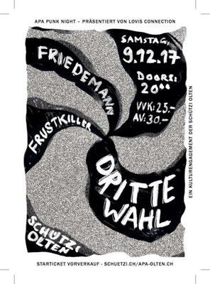 09.12.17  ll  DRITTE WAHL  l  FRIEDEMANN  l  FRUSTKILLER