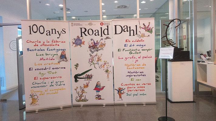 Celebració dels 100 anys del naixement de l'escriptor Roald Dahl