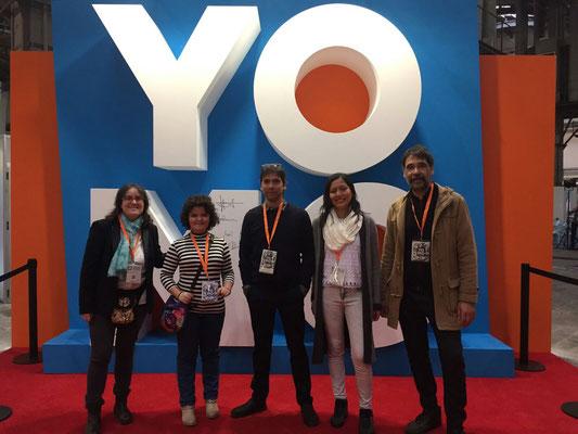 D'esquerra a dreta: Vanessa, Mixa, Juli, Pamela, Josep