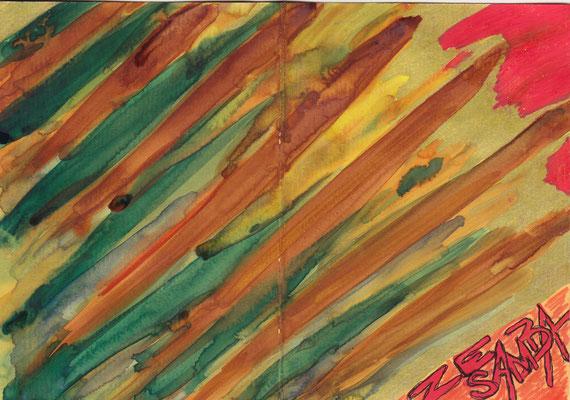 Carte de Voeux - Asssociation Zé Samba - Bar Gadoxe