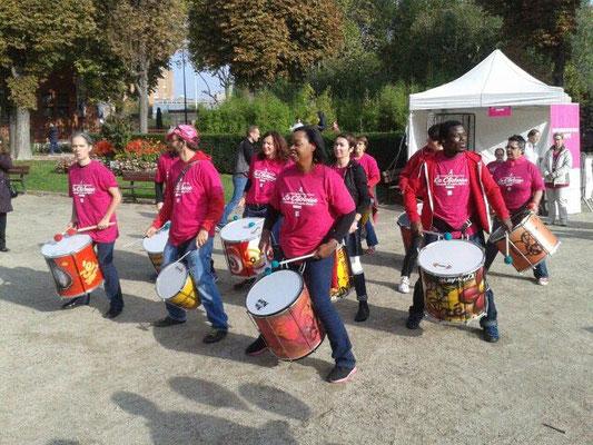 Batucada Zé Samba - La Clichoise - Octobre 2015 © Association Zé Samba