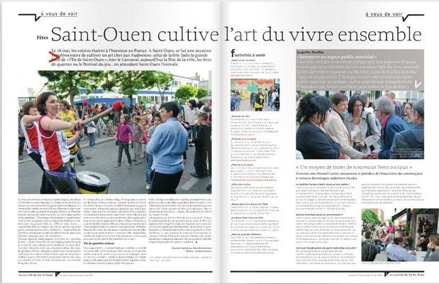 Le Journal de Saint-Ouen N°11, du 10 au 23 Juin 2010