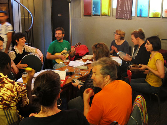 Pagode Au Picolo - Juillet 2016 - Association Zé Samba