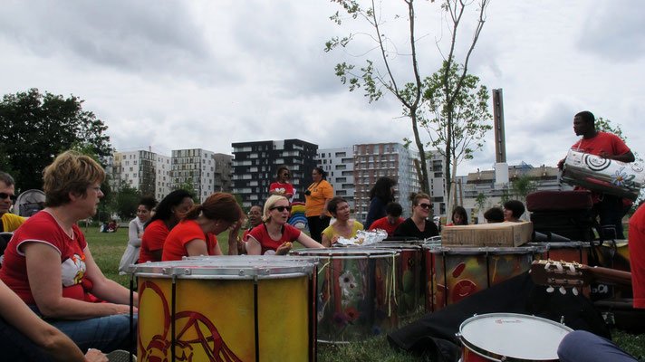 Pagode © Tous droits réservés - Association Zé Samba