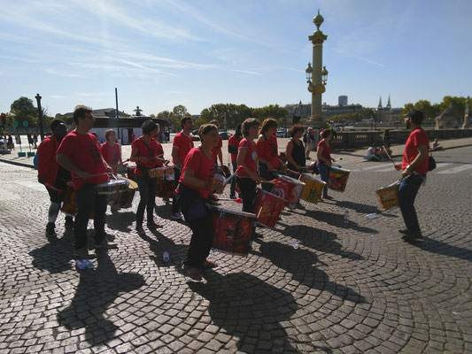 Le Bloco do Zé à La Parisienne - Crédits : Association Zé Samba