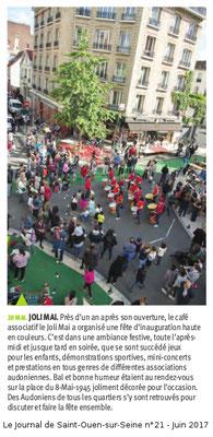 Le Journal de Saint-Ouen - Juin 2017