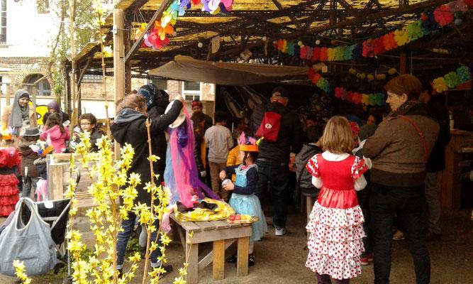 Carnaval des Jardins de Guinot - Crédits Jardins de Guinot