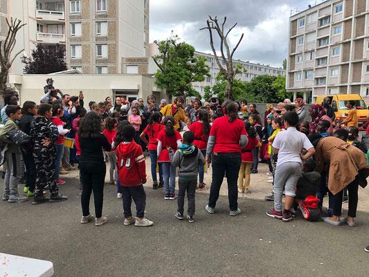 Zé Samba Mirim à la Fête de Quartier Cordon