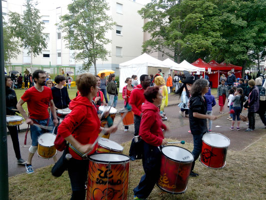 Batucada Zé Samba - Photo : Maison de quartier Cergy Touleuses