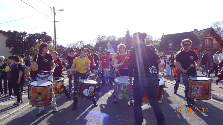 Bloco do Zé au Carnaval de Marly la Ville avec Batakoa