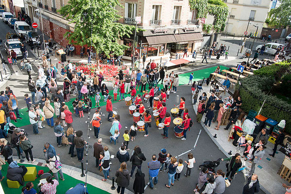Inauguration du Joli Mai - Mai 2017 © Ville de Saint-Ouen