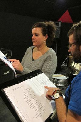 Stage de Création collective - Mise en musique - Studios Mains d'Oeuvres - Février 2014