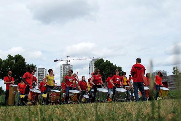 Batucada © Tous droits réservés - Association Zé Samba