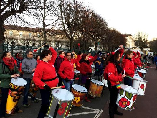 Bloco do Zé - Batucada Zé Samba et la BAF au téléthon