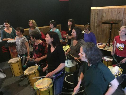 Répétition - Rêvons rue - Association Zé Samba