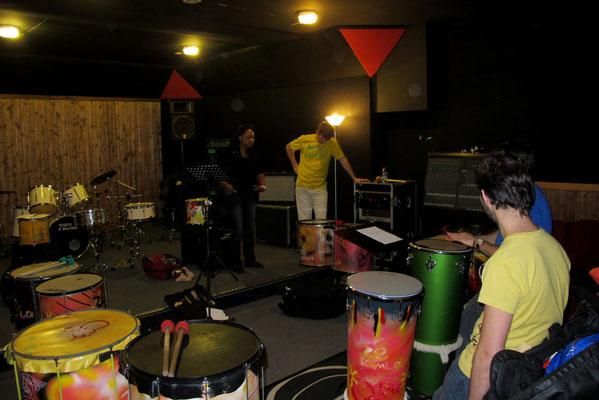 Saint-Ouen - Stage de création collective - Février 2014