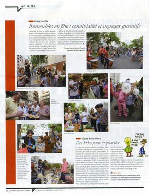 Le Journal de Saint-Ouen - Du 07 au 20 juin 2012
