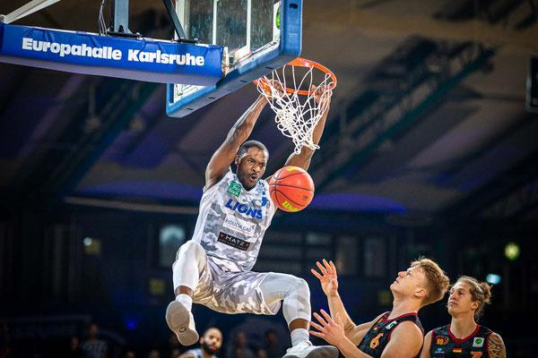 2. Basketball Bundesliga, PSK Lions beim Heimspiel