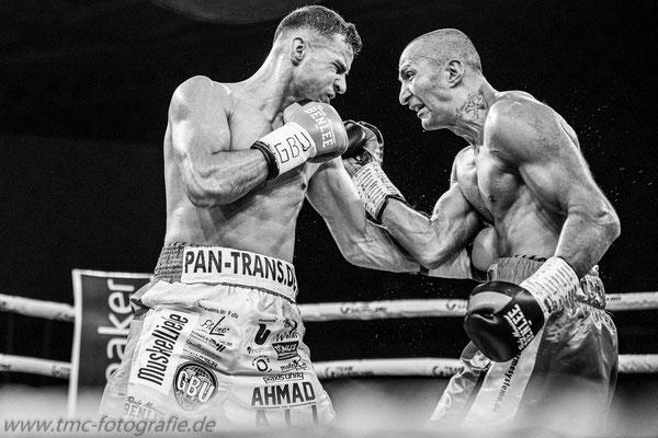 Boxkampf Ali Hamad