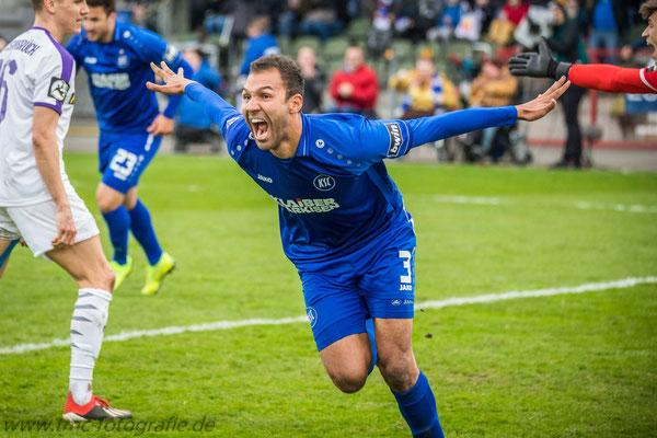 Heimspiel des Karlsruher SC