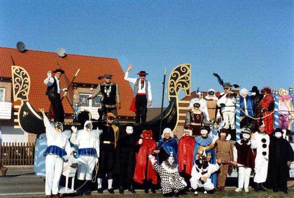 1994 -  Karneval in Venedig  'Wir grüßen aus Venedig heut - die Narren und die andren Leut'