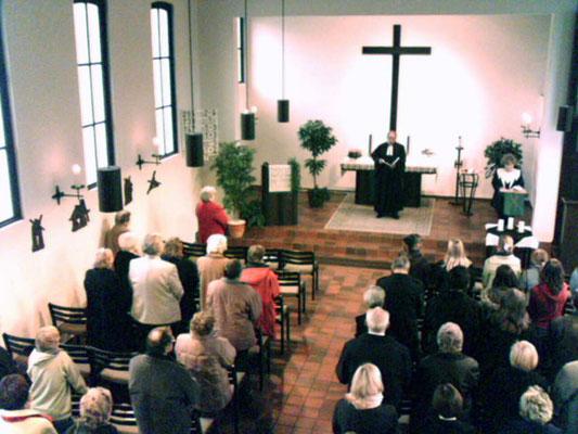Gottesdienst in der Christuskirche ...