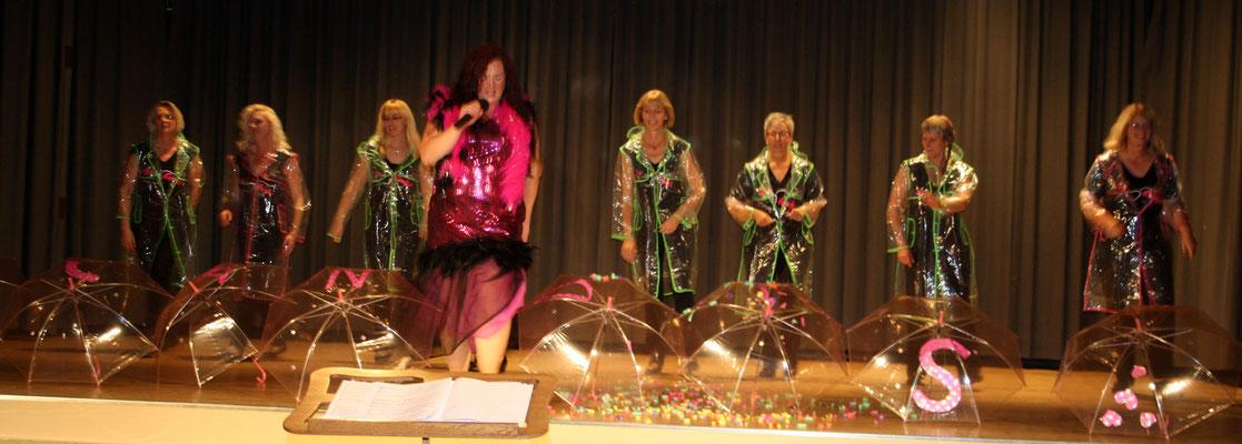 The Candys zeigten ihre Show ...