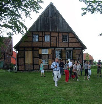 Der Hof Grube, wo bereits 25 Generationen lebten und das Haus immer wieder umgestalteten.