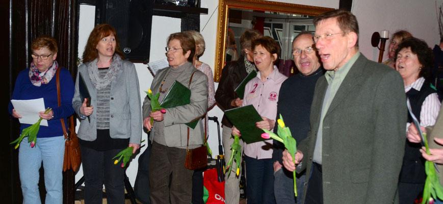 'Tulpen aus Amsterdam' für das Geburtstagskind
