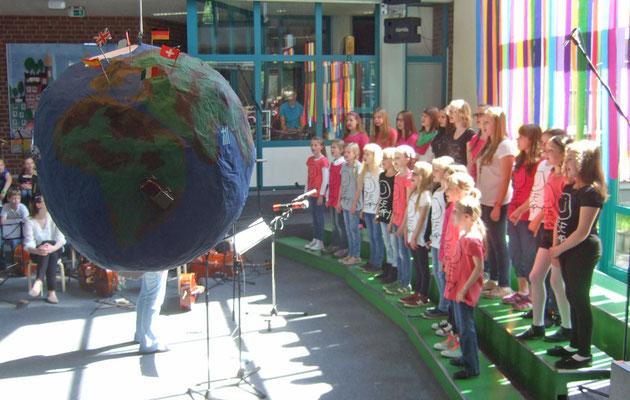 Der Junge Chor auf Weltreise