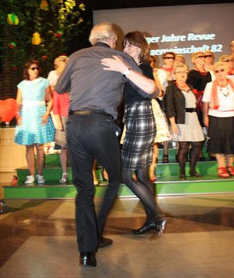 Gabriele und Uli Haas beim Tangotanz