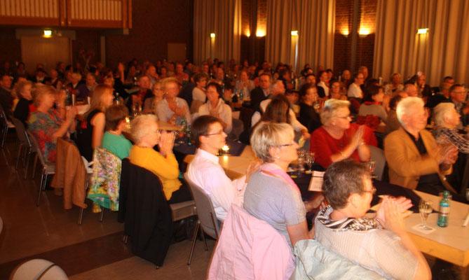 Ein begeistertes Publikum