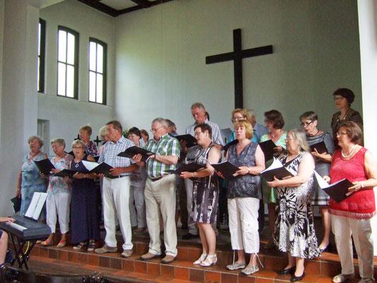 Die Chormitglieder