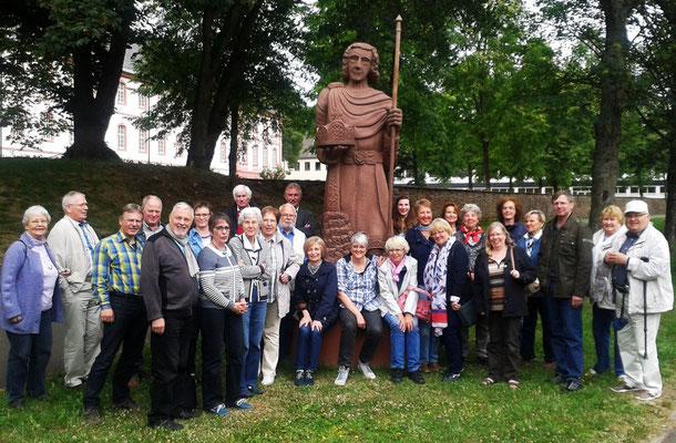 Gruppenfoto in Prüm