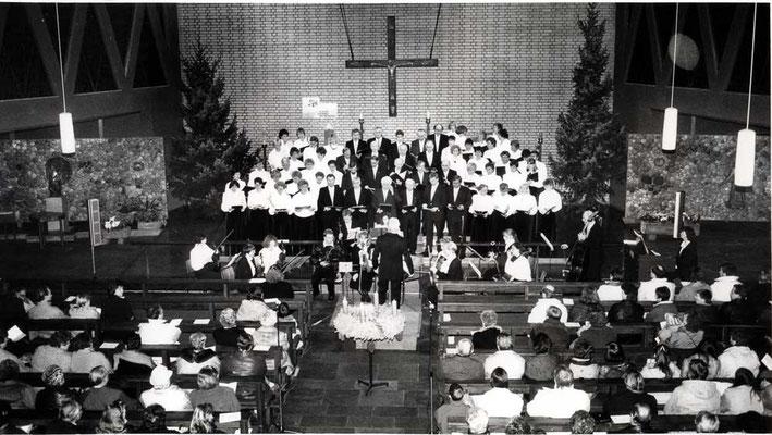 2. Adventssonntag 1982 in St. Antonius Datteln