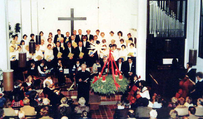3. Adventssonntag 1982 in der Christuskirche Olfen
