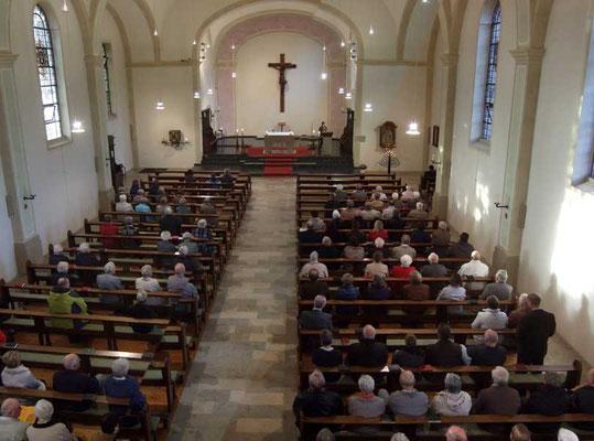 Gottesdienst in St. Antonius