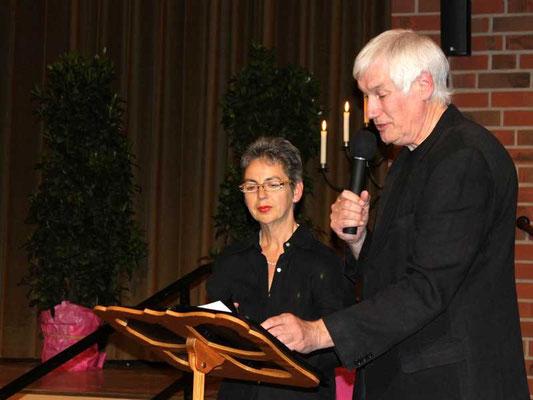 Sabine Hennes und Franz Frye führten durch das Programm