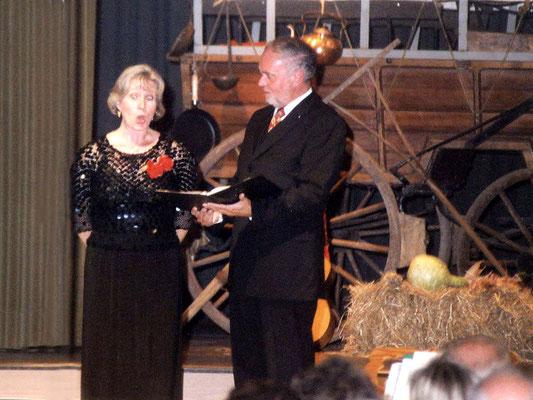 Barbara Klier und Jörg Vorpahl singen Brahms-Lieder